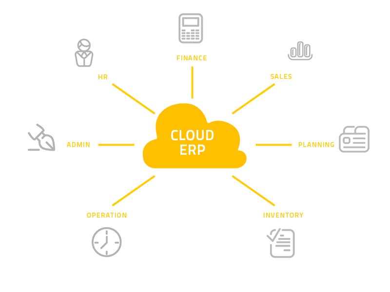 Cloud ERP Systems - Cloud Enterprise resource planning